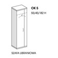 SZAFA UBRANIOWA OK5